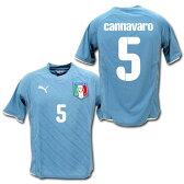 2009 イタリア代表 ホーム上下セット(水色/白) #5 CANNAVARO ファビオ・カンナヴァーロ プーマ製