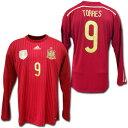 スペイン代表 2014 ホーム・長袖 #9 TORRES フェルナンド・トーレス adidas