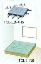 【送料無料】高床式畳収納庫【楽座(プランL-4)四畳半タイプ引出5台付き】TCL-□N9の写真