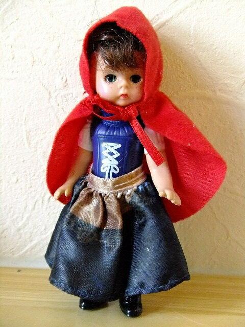 マクドナルド マダムアレクサンダー ハッピーミール ハッピーセット ウェンディ ドール 童話【赤ずきんちゃん】人形 アメリカ 玩具 おもちゃ