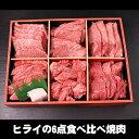 【あす楽対応】ヒライの6点食べ比べ焼肉 600g(3〜4人前)(冷凍)【送料無料※一部地