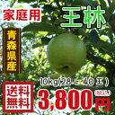 青森りんご☆送料無料☆家庭用王林10キロ28〜40玉 11月10日頃から