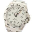 ロレックス ROLEX エクスプローラー2 216570 自動巻き ホワイト メンズ 腕時計【中古】