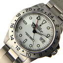 ロレックス ROLEX エクスプローラー2  16570 ホワイト 自動巻き メンズ 腕時計【中古】