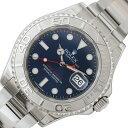 ロレックス ROLEX ヨットマスター 116622 ブルー 自動巻き メンズ 腕時計【中古】