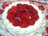 イチゴのデコレーションケーキ(15cm)