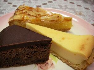 ザッハトルテ チョコレート チーズタルト ベイクドタイプ アマンディーヌ アーモンドタルト