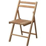 折りたたみ椅子(フォールディングチェア) 木製 LFS-355NA ナチュラル 【室内/屋外/ガーデニング】