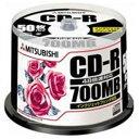 三菱化学メディア CD-R <700MB> SR80PP50 50枚