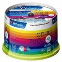 三菱化学メディア CD-R <700MB> SR80SP50V1 50枚