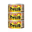 (まとめ)いなば わがまま猫 ささみ入り まぐろ 60g×3缶 (ペット用品・猫フード)【×24セット】