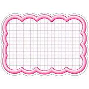 ササガワ タカ印 抜型カード 16-4196 雲形大 ピンク 16-4196