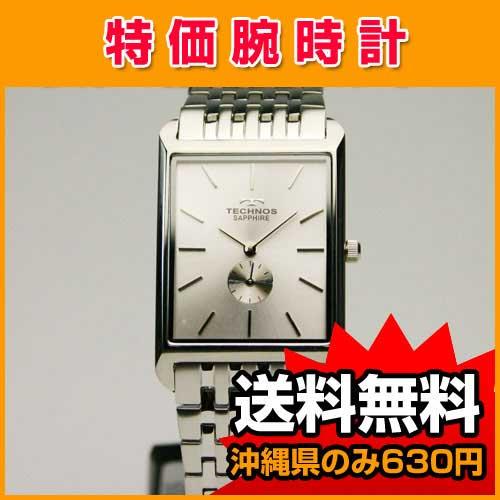 【送料無料】 テクノス【TECHNOS】 メンズ 腕時計 セラミック T9268SS