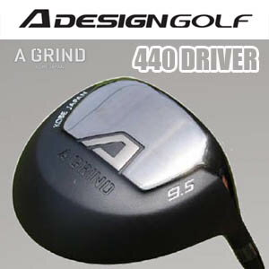 A DESIGN GOLF A GRIND 440 DRIVERlAデザインゴルフ Aグラインド 440 ドライバー  【2015年6月下旬新発売】