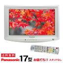 【中古】【スタンド無】 Panasonic パナソニック VIERA ビエラ 液晶テレビ 17型 1 ...