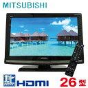 【中古】 MITSUBISHI 三菱 REAL リアル 26型液晶テレビ 26型 26インチ 地デジ LCD-26MX45 tv-239 j2120