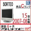 【中古】 MITANI 三谷商事 SORTEO ソルティオ 液晶テレビ 15型 15インチ 地デジ M15D-1 tv-241 j2122