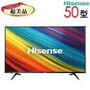 【中古】 Hisense ハイセンス 液晶テレビ 4K 50型 50インチ LED 大型 新古 HJ50N3000 tv-255