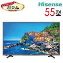 【中古】 Hisense ハイセンス 液晶テレビ フルハイビジョン 55型 55インチ LED 大型 新古 HJ55K3120 tv-256