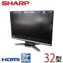 【中古】 SHARP シャープ AQUOS アクオス 液晶テレビ 32型 32インチ 地デジ LC-32D10 tv-262