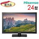 【中古】 Hisense ハイセンス 液晶テレビ 24型 24インチ 新古 HJ24K3120 tv-275
