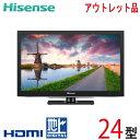 【中古】 Hisense ハイセンス 液晶テレビ 24型 24インチ 新古 HJ24K3121 tv-312