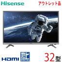 【中古】 Hisense ハイセンス 液晶テレビ 32型 32インチ LED 新古 32N20 tv-314