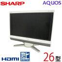 【中古】 SHARP シャープ AQUOS アクオス 液晶テレビ 26型 26インチ 地デジ BS CS 2009年製 Cランク LC-26D50 tv-322