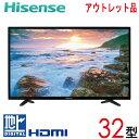 【中古】 Hisense ハイセンス 液晶テレビ フルハイビジョン 32型 32インチ LED 新古 HS32K220 tv-341