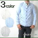 メンズシャツ オックスフォード ボタンダウンシャツ 3COL...