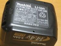 マキタリチウムイオンバッテリーBL143014.4V3.0Ah