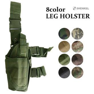 SHENKEL 腿孔星 sabage 配備生存的正確的戰術手槍皮套遊戲
