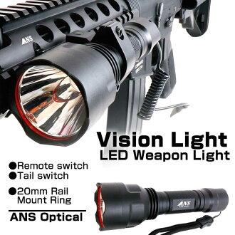 Sabage 設備 ANS 光學視覺 LED 兵器輕 20 毫米所需的安裝設置遠端開關 sabage 戰鬥! 保留遊戲