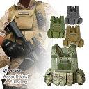サバゲー ベスト SHENKEL アサルトタクティカルベスト var.6 サバイバルゲーム 服 装備 VEST