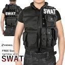 SHENKEL 軽量 SWAT ベスト タクティカルアーマー...