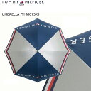 【TOMMY_HILFIGERトミーヒルフィガー】【THMG7SK5】【UMBRELLA/ゴルフ傘】【05P18Jun16】