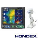 ホンデックス(HONDEX) 魚群探知機 HE-10S GPS外付仕様〈カラー液晶プロッターデジタル魚探〉