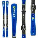 エントリーでポイント10倍!SALOMON サロモン 19-20 スキー 2020 S/RACE RUSH SL レースラッシュ (金具付き) スキー板 レーシング デモ ショート (onecolor):