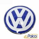 VW ニュービートル フロントエンブレム ブルー/ホワイト 純正品【あす楽】