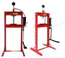 イリイ 12ton油圧プレス ショッププレス圧力計付き12,000kg