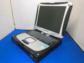 【美品】【送料無料】Panasonic タフブック TOUGHBOOK CF-19 (CF-19RW1ADS) Corei5-540UM/2G/160G/タッチパネル/無線LAN・Bluetooth内蔵