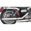 3インチ クロームワークスマフラー テーパード 1995-2005 FXD ダイナ KHROME WERKS 品番 202410 (ハーレー パーツ 部品 工具のパーツデポ)