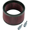 1 Filter Kit Air Super E/G stealth bomber air cleaner Standard Pleated Taller S&amp;amp;S CYCLE article number 170-0127