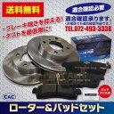 送料無料 ジムニー JA11C用フロントローターパッドセット左右(PA118) (CAC)/専用グリス付