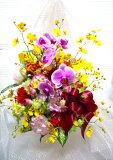 [あす楽][送料込][高レビュー評価] [胡蝶蘭豪華アレンジ][誕生日花][祝い花][開店祝花][記念日花]