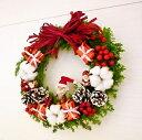 [送料無料][クリスマスリース][クリスマス花 ][クリスマス][誕生日花][お歳暮]【RCP】【HLS_DU】【楽ギフ_メッセ入力】【オススメ】【売れ筋】