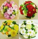 [送料無料][誕生日 花][お祝い 花]お盆花 [選べる 4色][ラウンドアレンジ][ペット花]【HLS_DU】【RCP】【楽ギフ_メッセ入力