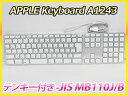 Apple Keyboard テンキー付き -JIS MB110J/B アップル キーボード 【未使用品】