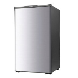 エスキュービズム 60L 1ドア冷凍庫 WFR-1060SL シルバー 【即納・送料無料】【02P03Dec16】