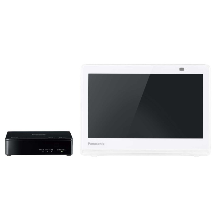 Panasonic パナソニック 10V型ポータブル液晶テレビ プライベート・ビエラ UN-10E7-W ホワイト 【即納・送料無料】【02P03Dec16】